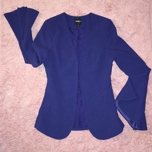 royal blue colored blazer